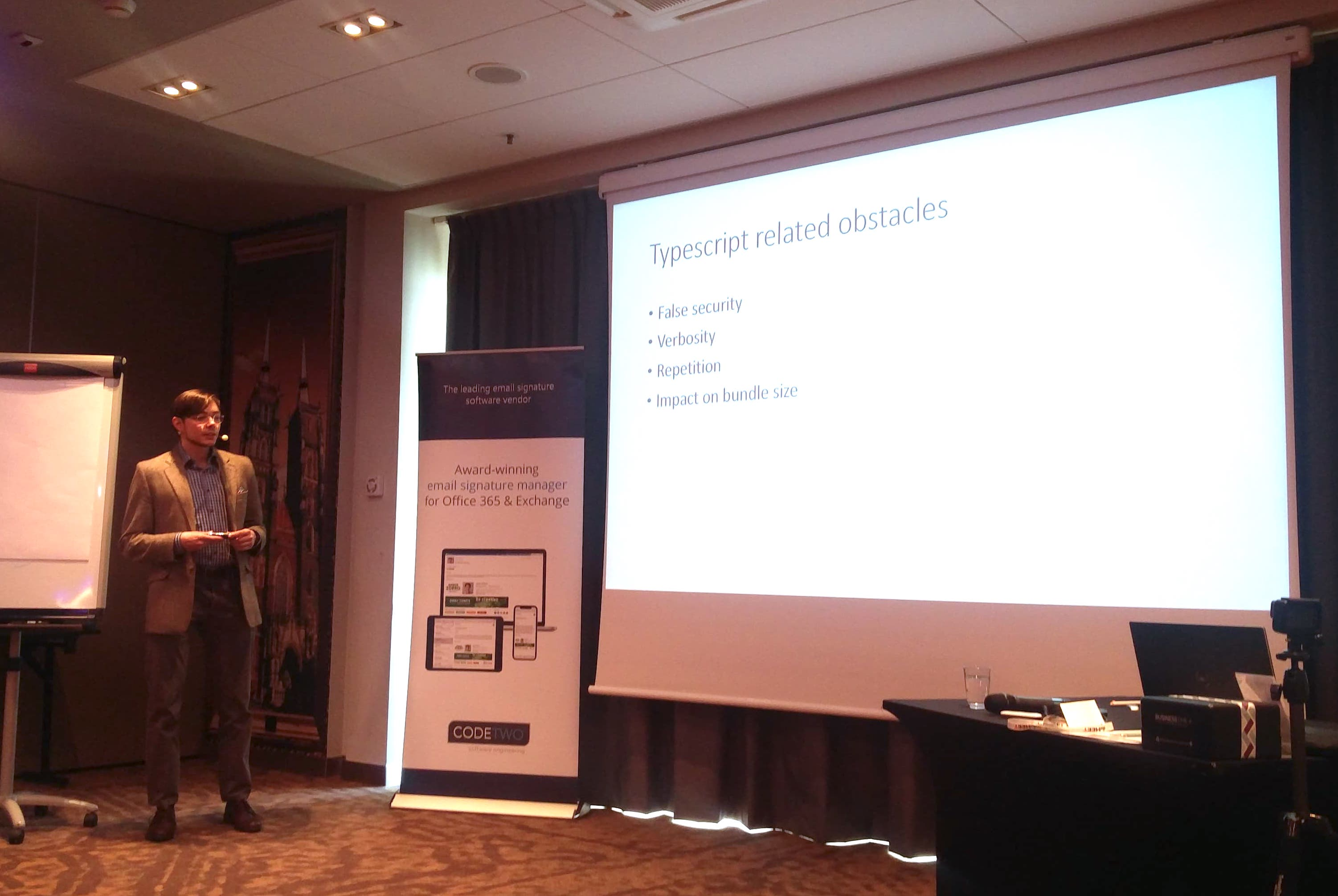 Jędrzej's lecture on Infomeet