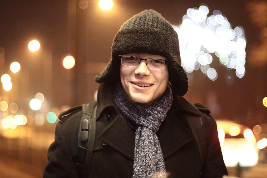Jędrzej welcomes You, to contact him!